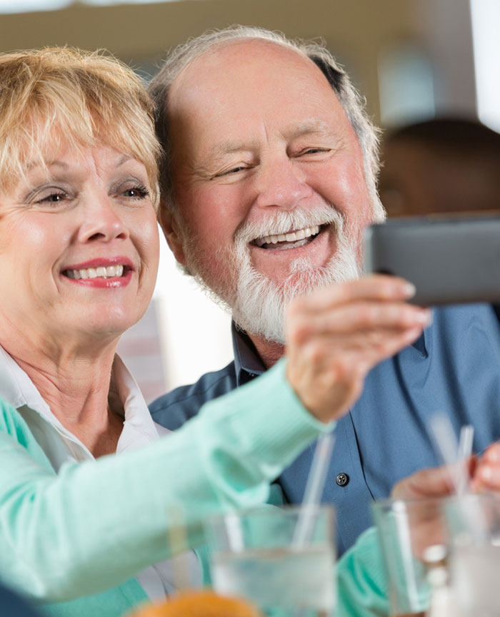 Couple enjoying each other after an Atherectomy procedure in Jupiter Florida